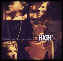 Dont appal me while Im high. Sherlock.Mycroft by TheConDar
