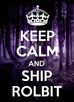 Keep Calm and Ship Rolbit by Amanddica