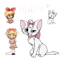 Marie by kit-puns