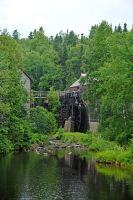 saw mill and grist mill by LucieG-Stock