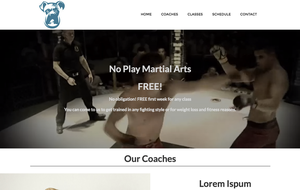 Martial Arts Template by mikethedj4