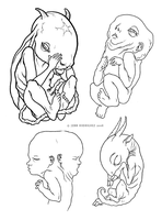 Fetus Designs by grungepuppy