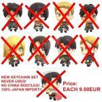 [SOLD OUT] Official Attack on titan Keychains NEW by xXBeatoUshiromiyaXx