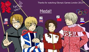 Medal - JJ.OO London 2012 by KyasuJonesKirkland
