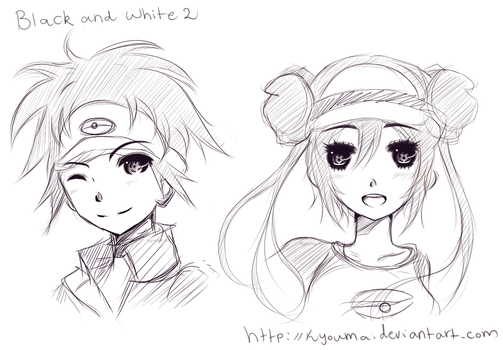 TRAINERS - Pokemon Black and White 2 by Kyouma