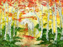 The Last Unicorn by The-Starhorse