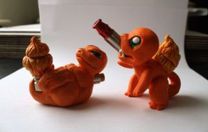 Charmander V Charmander by Fuckinintents