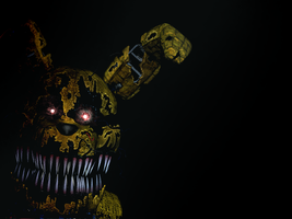 Nightmare Springbonnie- Commission by Christian2099