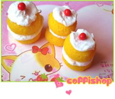 Creamy puff cake - again by coffishop