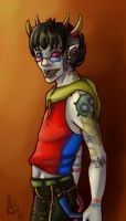 Punk!Stuck Sollux Captor by querulousArtisan