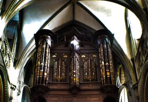Gloucester Cathedral Organ by sk8-element