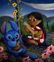 Lilo and Stitch by Jazzekat