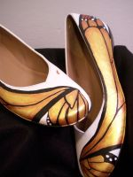 Monarch Fancy Shoes 3 by KimsButterflyGarden