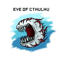 Eye of Cthulhu Fan Art by Brainsause