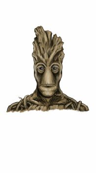 I am Groot by deviantlookingzombie