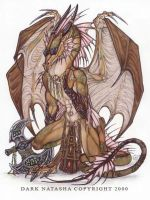 Steam Punk Dragon by darknatasha