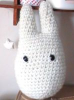 Kawaii Amigurumi Totoro by yes-its-yaz