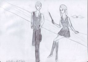 Lily and Scorpius draft by MelATCK