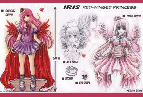 IRIS- chara design by Red-Priest-Usada