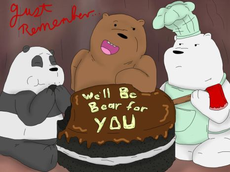Never drew bears before, I'm trying new things... by Ryu-Amio