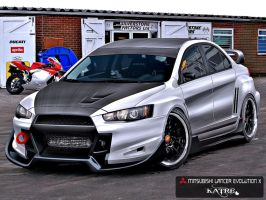 MITSUBISHI LANCER EVOLUTION X by katre-design