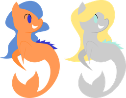 Hippocampi Adopts (CLOSED) by demonreapergirl
