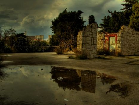 Mirroring of stormy past by blagi
