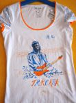 Mark Knopfler Tshirt Design 2 by ZuzanaGyarfasova