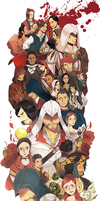 Happy B-day, ezio by rodopic