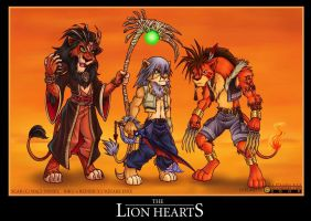 KH2 Lion Hearts II by alphaleo14