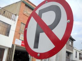 A No Parking Sign by TheWizardofOzzy