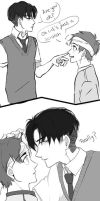 Lucky Break - Ereri - Eren x Levi - PART 3 by EryenArt