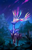 Pokemon - Xerneas by Gabbi