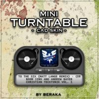 Mini Turntable CAD Skin by beraka