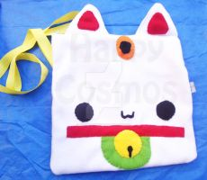 Maneki Neko Bag by CosmiCosmos