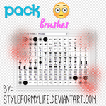 Pack Todos Mis Brushes || By: StyleForMyLife by StyleForMyLife