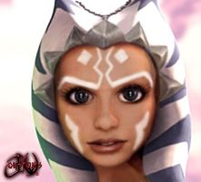 Ahsoka Tano Humanized 2 by JVCustoms by jvcustoms