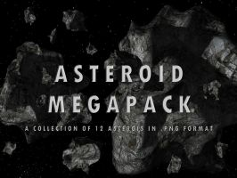 Asteroid megapack by thefirstfleet