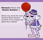 Helium [He] by Reptonic