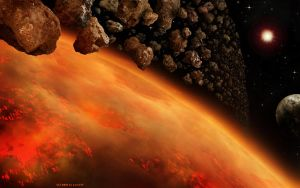 Hell Planet with Ring by Lairis77
