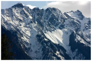 Pemberton Mountain Range I by bcdirector