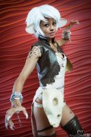 AmeComi Cheetah Cosplay by the-mirror-melts