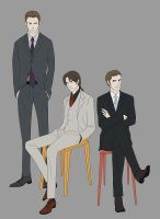 Suits Suits Suits by doubleleaf