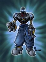 jibberishs gibb colored by by shalomone