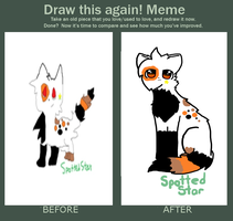 Draw This Again Meme! by foxtain