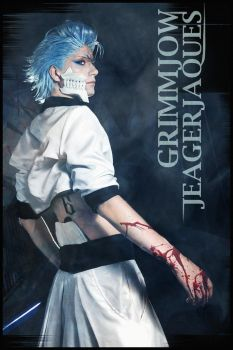 Grimmjow Jeagerjaques by Firiat