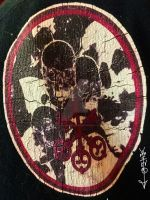 Brothers Ghede and the 3 Keys fabric patch by Inner3volutionaryArt