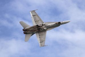 F-18C Demo at the Cocoa Beach AS by OpticaLLightspeed
