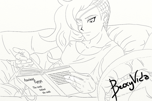 [REQUEST] YGO OC - Maes Reading by BeckyVida