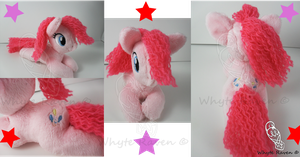 Pinkie Pie MLP Plushie *SOLD* by Whyte-Raven